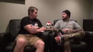 Buddy Nielsen - Senses Fail Interview #2 in Omaha, NE - Backstage Entertainment