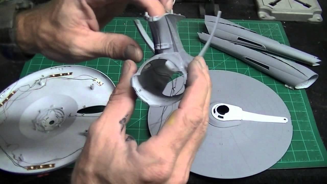 Star trek uss enterprise ncc refit 1 scale model - Revell 1 500 Scale Star Trek Into Darkness U S S Enterprise Buildup Pt 1 Youtube
