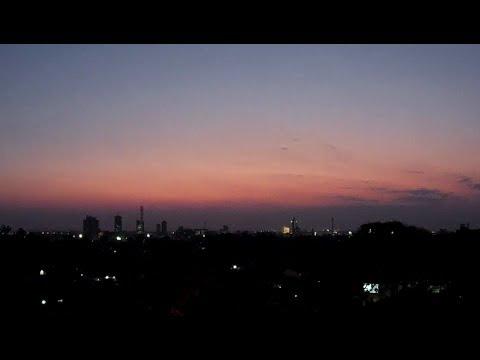 21070922 Timelapse of downtown Lusaka Sunset