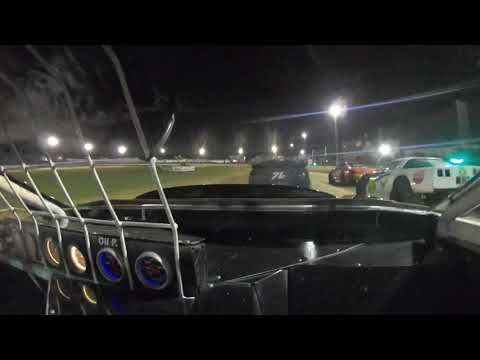 11C saloon heat 4 started of 3rd was running in 4th up till had a issue and hit the wall came to a stop and was hit very hard by another car. - dirt track racing video image