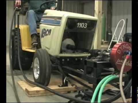 garden tractor pulling big boy toy