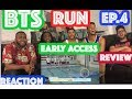 BTS RUN EP.4 REACTION/REVIEW