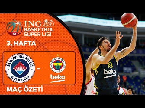 BSL 3. Hafta Özet | Bahçeşehir Koleji 78-79 Fenerbahçe Beko