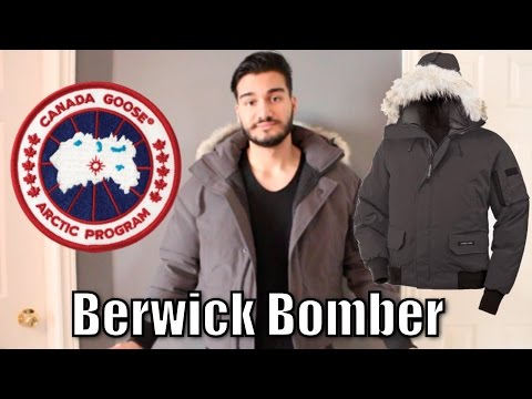 Canada Goose Berwick Bomber Review & On Body | Harry Rosen Exclusive