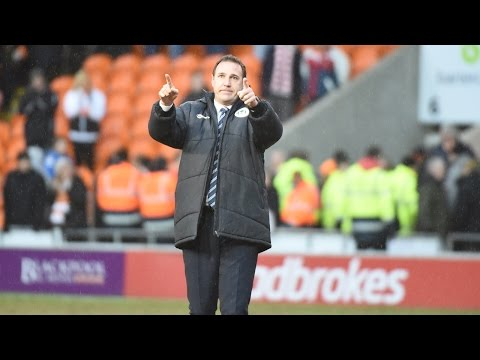 REACTION: 'Delighted for the fans' - Malky Mackay post important Blackpool victory