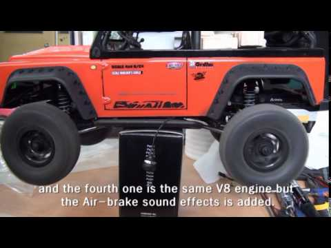 Rc Car Owner S Manual For Engine Sound Unit Youtube
