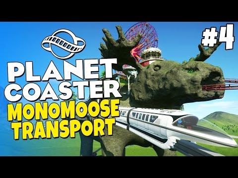 Planet Coaster - Amoosement Park #4 - Monorail Transport