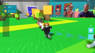 Callie and Dad mess with Collin in Roblox!