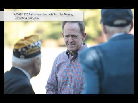 WCHE 1520 AM Radio: Bill Mason Interview with Sen. Pat Toomey | Pat Toomey For Senate