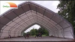 Indoor Riding Arena by ClearSpan Fabric Structures, Vonore ,TN - White Stables LLC. - 73 x 120