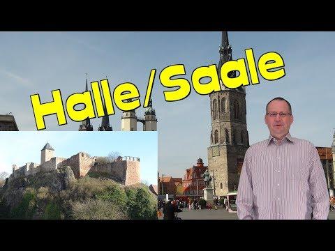 Halle/Saale🏰💒🕍Sachsen-Anhalt/ Germany *Videoreiseführer der Sehenswürdigkeiten-Video Travel Guide