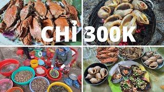 Du lịch Phan Thiết - Mũi Né #2: Đi chợ Đại Đồng rất vui, mua HẢI SẢN chỉ 300k tự nấu ăn mệt nghỉ