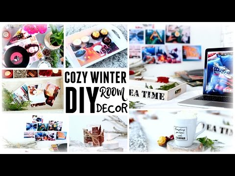 DIY Room Decor And Project Ideas for Winter | Make Your Room Cozy!
