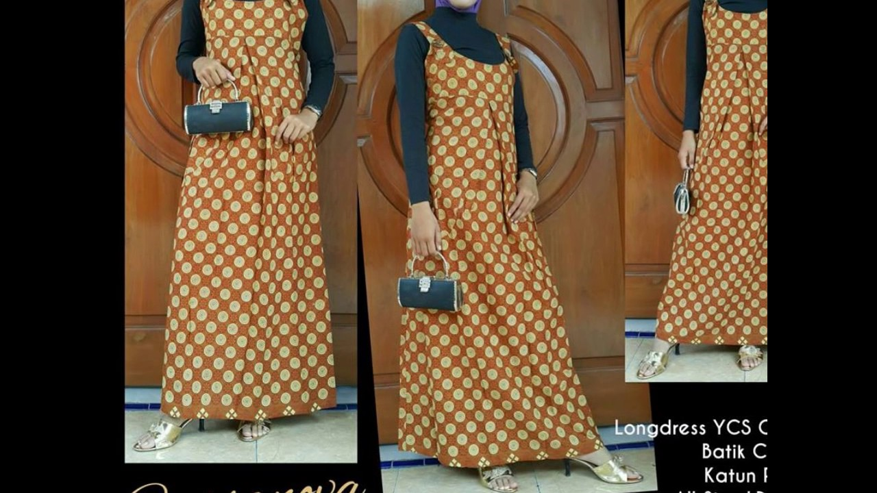 WA 0812 2533 6662 gamis batik zalora gamis batik zoela  YouTube