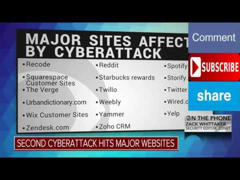 Huge Cyber Attack Takes Down Netflix, Twitter, Amazon, Spotify & More Sites!