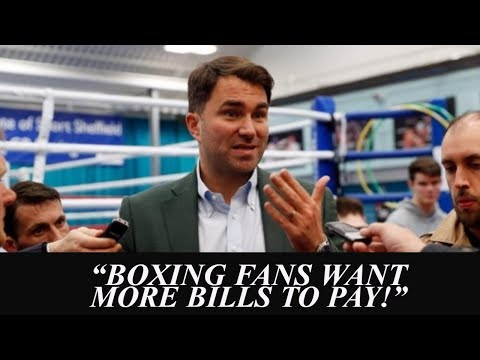 EDDIE HEARN TO STREAM BOXING IN USA FOR $20 MONTHLY FEE? | WANTS TO SIGN AL HAYMON FIGHTERS