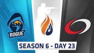 ECS Season 6 Day 23 Rogue vs Complexity - Dust 2
