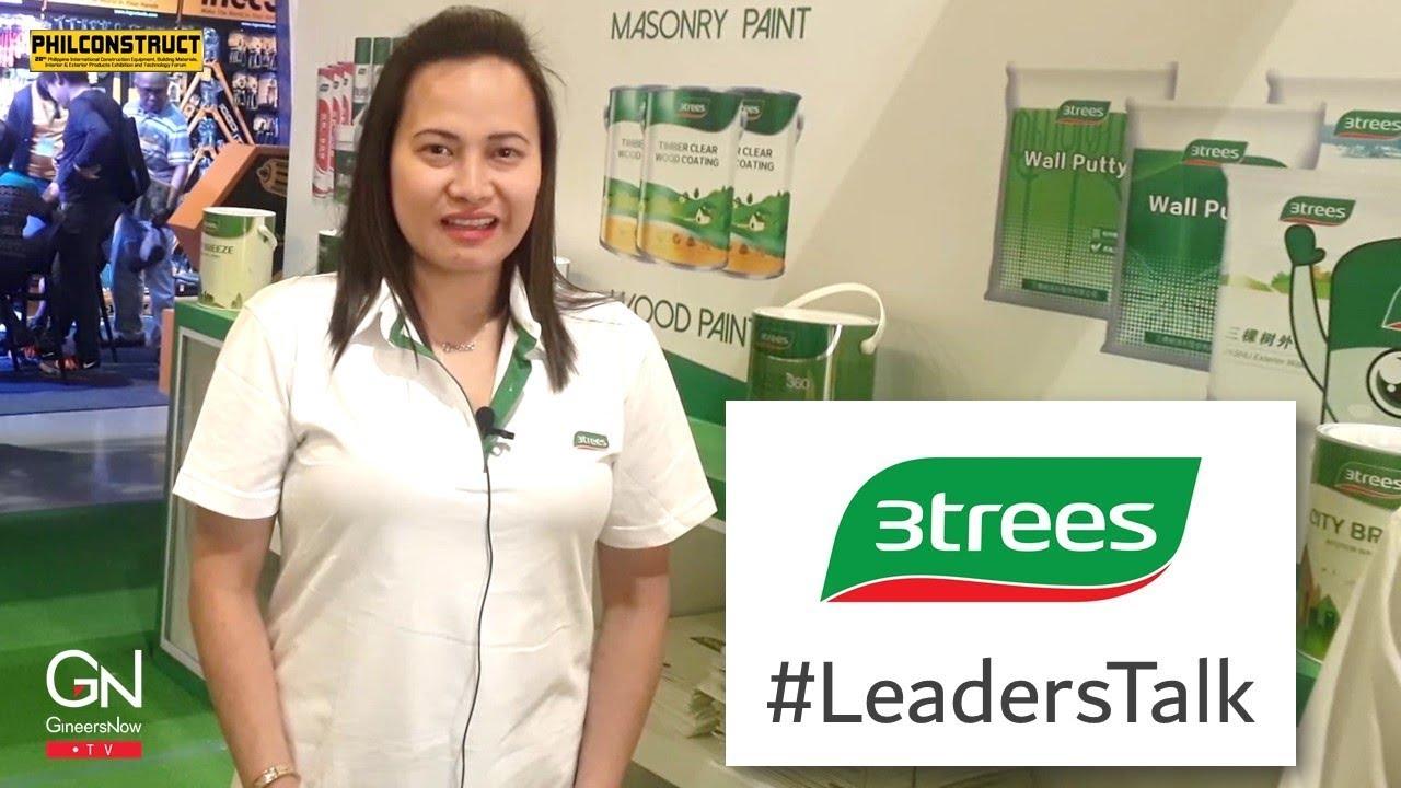 #LeadersTalk with Orshas Corporation, 3TREES Paint Philippines, Grace Lenon  Velasco-Engo