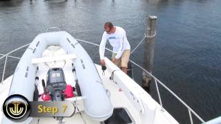 How to Operate UMT MARINE Manual Davit