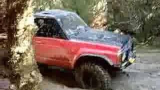 V8 Nissan Safari Bog Run