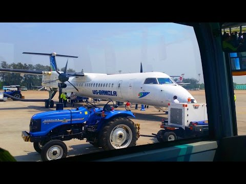 Plane Journey from Dhaka to Cox's Bazar | US-Bangla Airlines