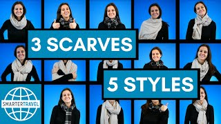 How to Style 3 Travel Scarves 5 Ways | SmarterTravel