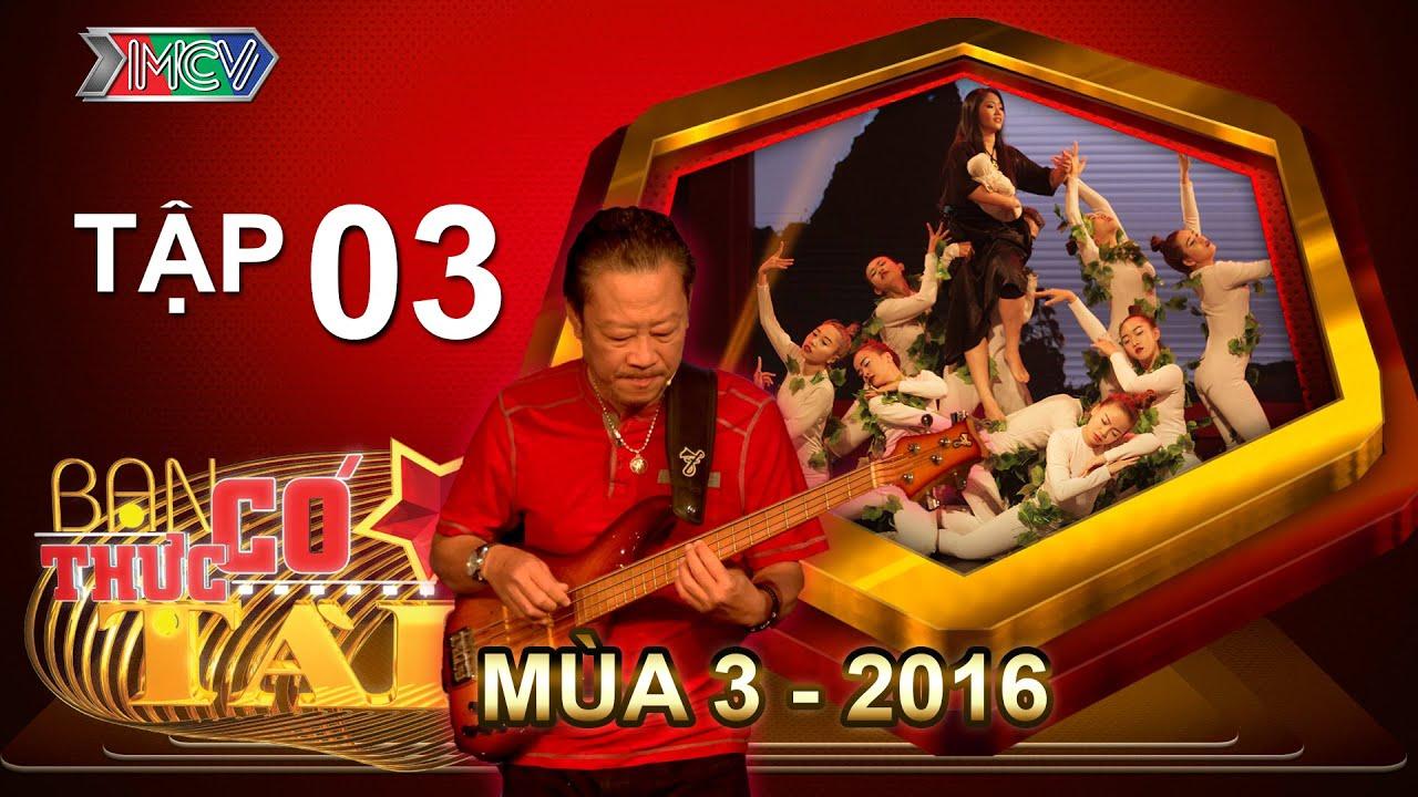 BẠN CÓ THỰC TÀI | Mùa 3 - Tập 3 | Lê Quang - Minh Nhí hội ngộ làm giám khảo | 11/04/2016