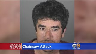 Police Looking For Man Suspected Of Attacking Wife With Chainsaw In Front Of Their Children