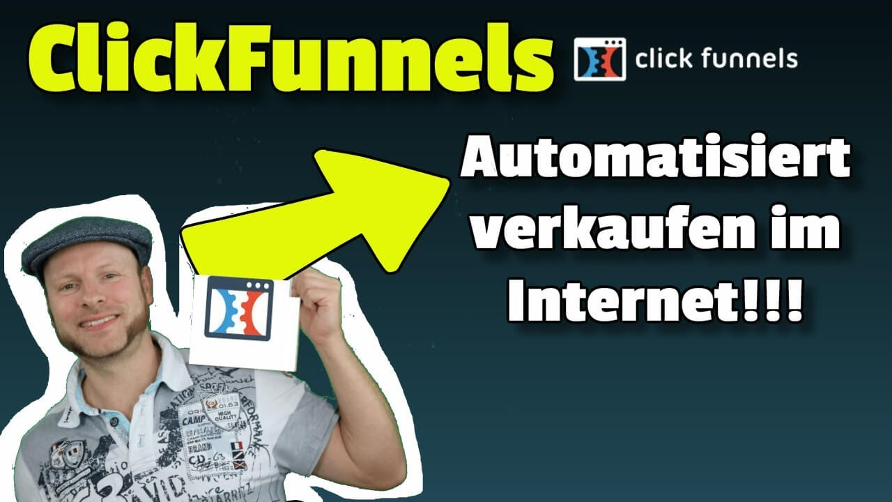ClickFunnels Tutorial deutsch ᐅ Die Anleitung für Einsteiger