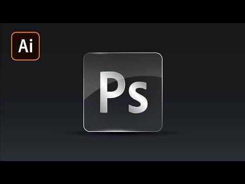 Иконки из стекла в Adobe Illustrator
