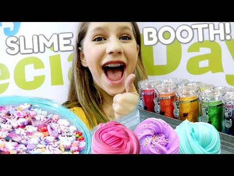 Selling Slime Shop Slime At A Children's Business Fair! How To Make A Slime Shop Episode 5