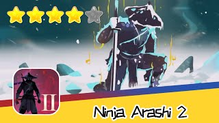 Ninja Arashi 2 Level 05 Walkthrough Arashi into the shadow Recommend index four stars