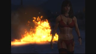 GTA V - Kanye West - Flashing Lights