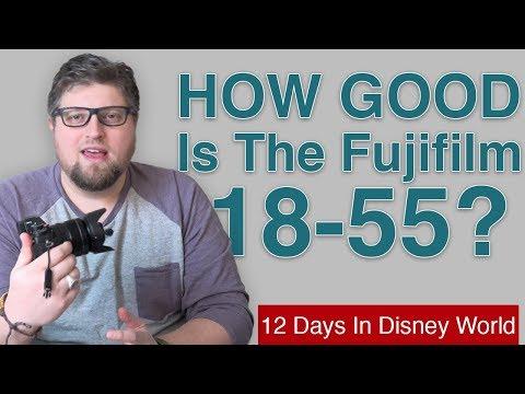 HOW GOOD Is The Fuji 18-55 Kit Lens? 12 Days In Disney World