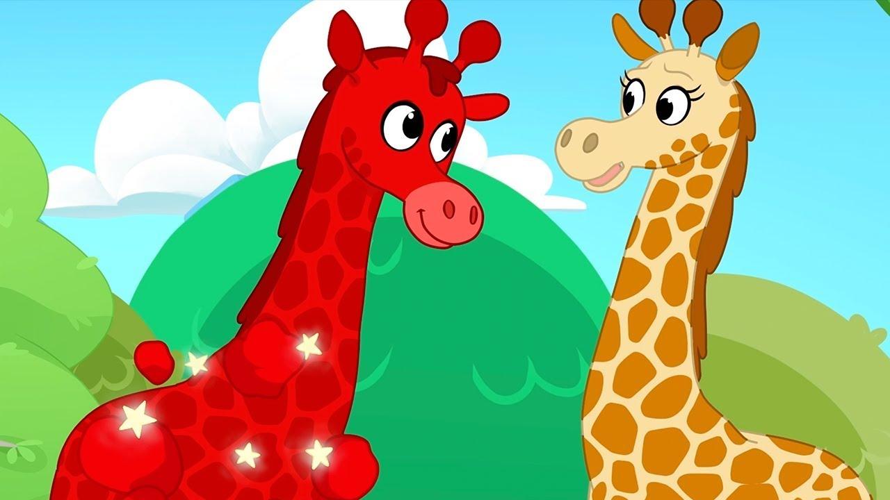 Download My Red Giraffe - My Magic Pet Morphle   Cartoons For Kids   Morphle's Magic Universe  