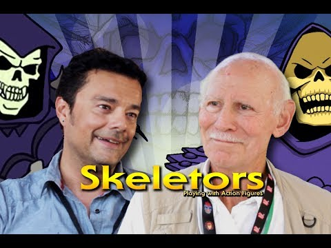 Skeletor Actors Play With Action Figures
