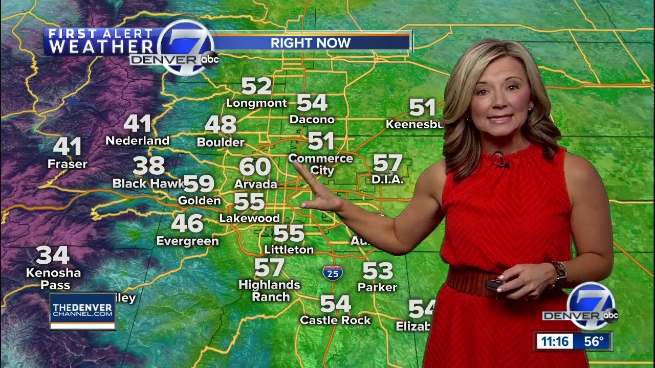 Angelina A Wish Child Helps Denver7 Share The Weather Forecast