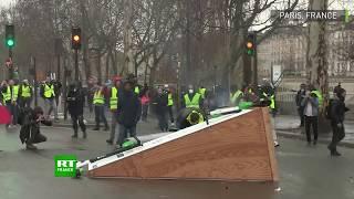 Gilets jaunes : la situation dégénère lors de l'acte 6 à Paris