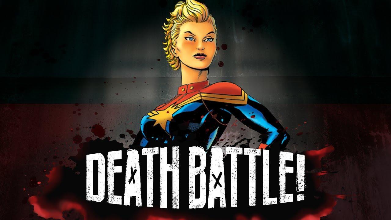 Captain Marvel Supernovas into DEATH BATTLE!