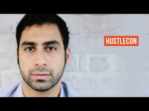 Neville Medhora obsesses about copywriting at Hustle Con