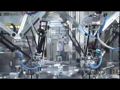 Pneumatic handling production line