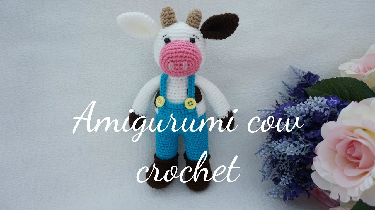 Cow Crochet Patterns – Amigurumi Tips - A More Crafty Life | 720x1280
