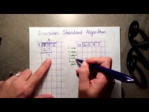 Division Standard Algorithm