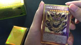 [Mở hộp bài] Millennium box GOLD EDITION by Alan Yugioh Shop