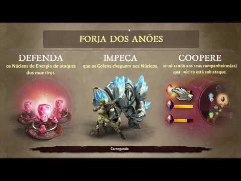 Dungeon Hunter 5 Modo Cooperativo Defendendo Os  Núcleos