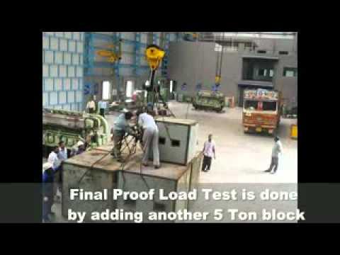 Load Test of EOT Crane.avi