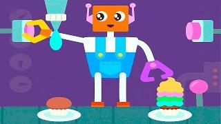 ВЕСЁЛЫЙ РОБОТ САГО МИНИ - Мультики для самых маленьких детей  Sago Mini Robot Party