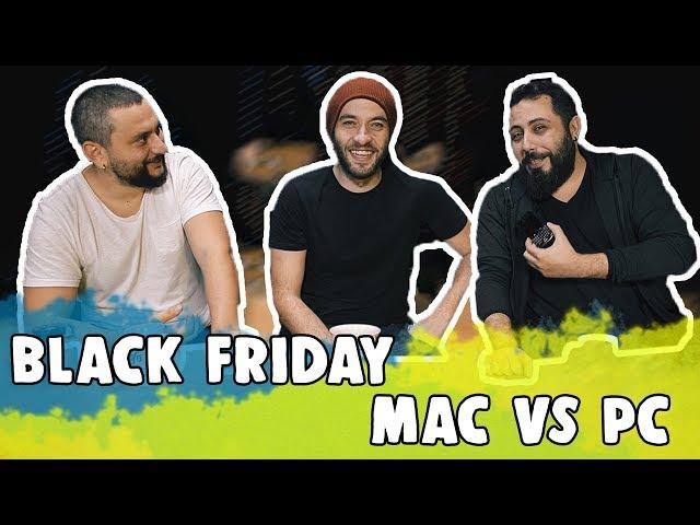 KATLANAB?L?R TELEFON GEL?YOR, BLACK FRIDAY, MAC VS PC | TECHBa??na #1