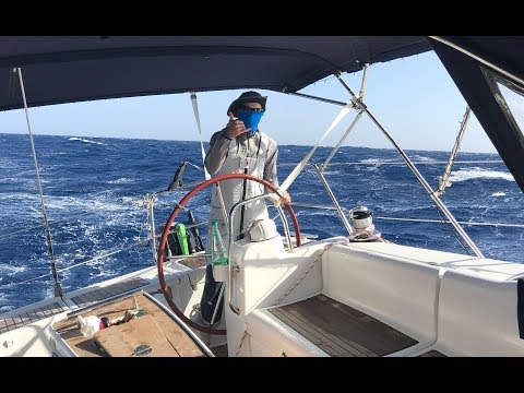 A Scary Start To Our Atlantic Crossing - Sailing L'Attitude - Ep 20