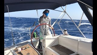 A Scary Start To Our Atlantic Crossing - Sailing L